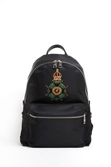 DOLCE & GABBANA 'Vulcano' backpack with emblem patch