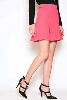 BOUTIQUE MOSCHINO Cady skirt with rouge