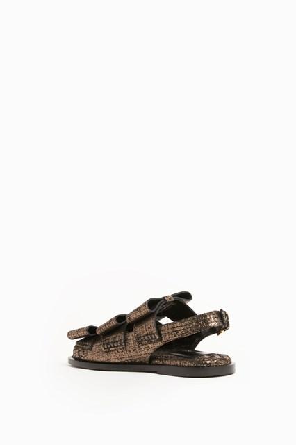 MARNI bows sandals