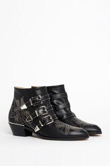 CHLOÉ Leather 'Susanna' ankleboots
