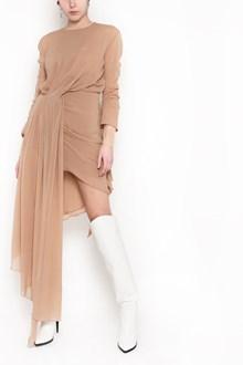 OFF-WHITE Draped asymmetical dress
