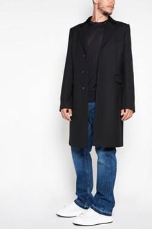 ALEXANDER MCQUEEN Fitted long coat