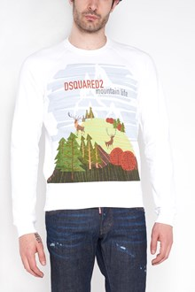 DSQUARED2 'Mountain life' printed cotton sweatshirt