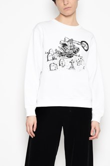 McQ ALEXANDER McQUEEN Cotton crew-neck sweater with print