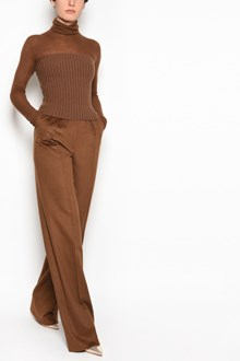 MAX MARA 'Biada' cashmere and camel suit