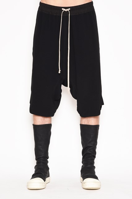 RICK OWENS 'Basket' pants with drawstrings
