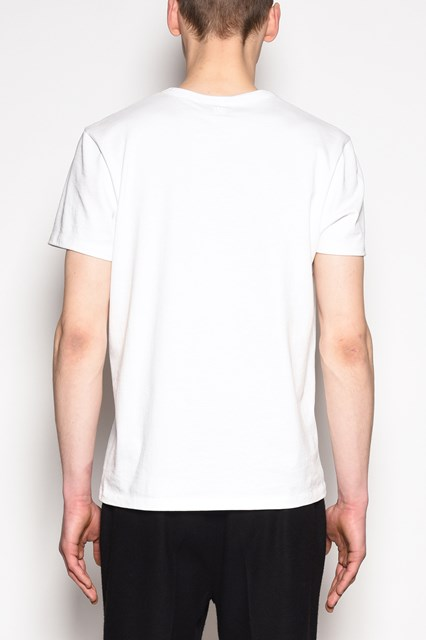 AMI 'Family' embroidered cotton t-shirt