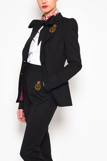 DOLCE & GABBANA Stretch embroidered 370 grams jacket