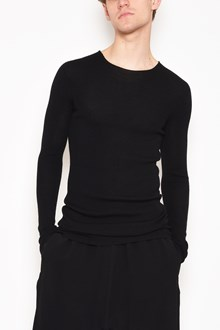 RICK OWENS Crew-neck ribbed jersey