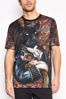 DOLCE & GABBANA 'Panter' all over printed cotton t-shirt