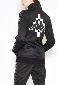 MARCELO BURLON - COUNTY OF MILAN Zipped 'Kappa' printed sweatshirt