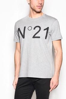 N°21 Crew-neck logo printed t-shirt