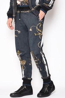 DOLCE & GABBANA 'Swords' printed sweatpants
