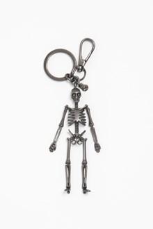 ALEXANDER MCQUEEN Metallic skeleton keyrings