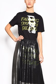 McQ ALEXANDER McQUEEN Cotton t-shirt with 'Falling and portrait' print