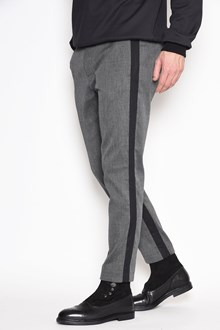 DOLCE & GABBANA Trousers with side bands