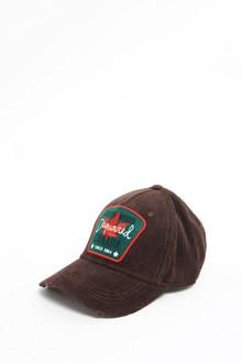 DSQUARED2 Velvet ribbed baseball hat