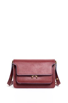 MARNI 'Trunk' medium saffiano leather bag with double adjustable strap