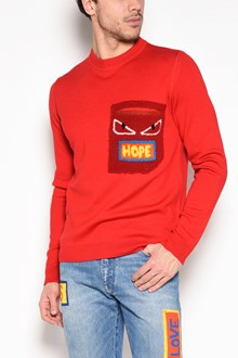 FENDI 'Hope' patch on pocket sweatshirt