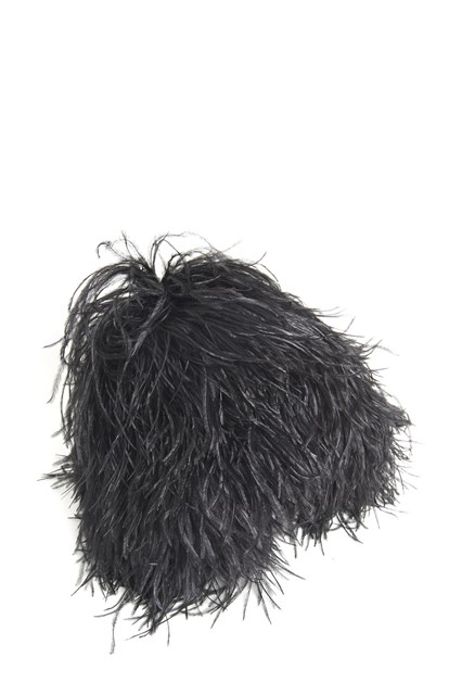 GIANLUCA CAPANNOLO all over feathers hat