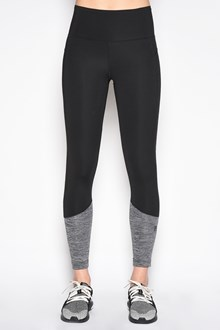 ADIDAS BY STELLA MCCARTNEY Polyester leggings with grey and openwork details