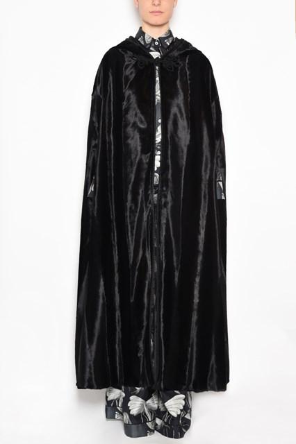 F.R.S. - FOR RESTLESS SLEEPERS 'kore' velvet hooded cape