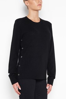 EQUIPMENT 'Jenny' cashmere pullover with lateral buttons