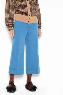 MARNI 3/4 techno twill trousers
