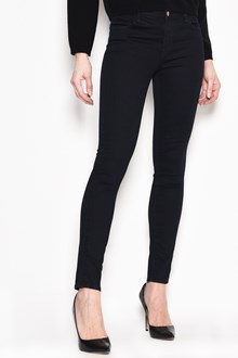J BRAND Cotton mid rise stretchy skinny jeans