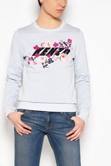 KENZO Crew-neck embroidered sweatshirt