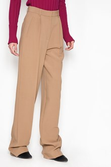 THEORY High waist pleat trousers