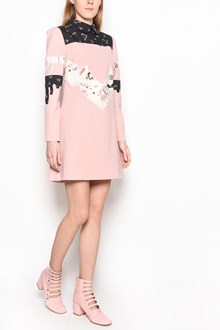 VIVETTA 'Amsterdam' long sleeves dress with multicolor inserts