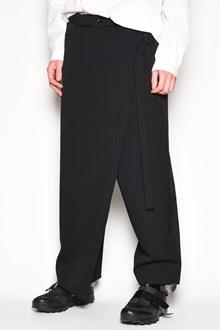 YOHJI YAMAMOTO Wool high-wrap pants