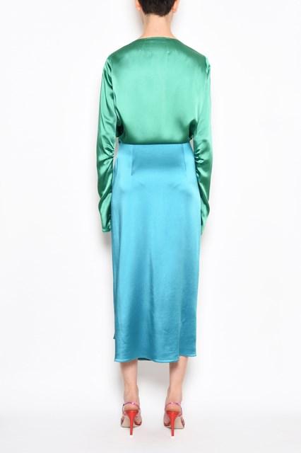 ATTICO Bicolor dress