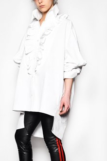 FAITH CONNEXION Oversize shirt with maxi rouge