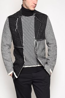 MAISON MARGIELA Cardi' jacket with patches