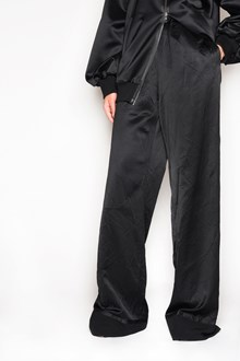 MAISON MARGIELA Silk oversize pants with elastic waist