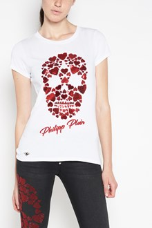 PHILIPP PLEIN Skull heart t-shirt