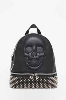 PHILIPP PLEIN Calf leather backpack with studs