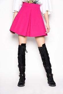 FAUSTO PUGLISI High waist mini flared skirt
