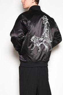 YOHJI YAMAMOTO 'New era' printed on the back bomber jacket