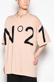 N°21 Logo printed oversize t-shirt