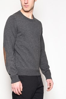 MAISON MARGIELA Crew-neck  wool sweater with patches