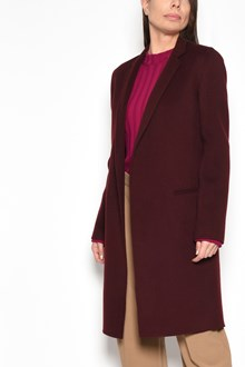 THEORY 'Essential' V-neck wool coat