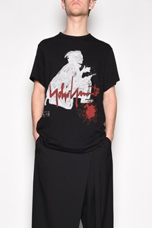 YOHJI YAMAMOTO 'Samurai' printed t-shirt