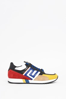 VERSACE Multicolor running in calf leather