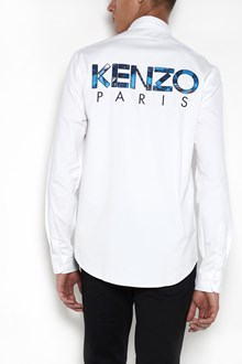 KENZO 'Kenzo' embroidered on the back casual shirt