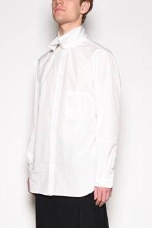 YOHJI YAMAMOTO Cotton shirt with collar insert