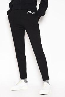 KENZO 'Kenzo' embroidered 'Fashion' pants