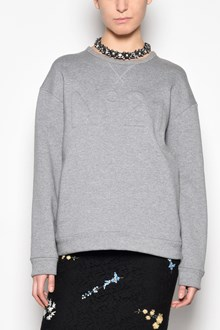 N°21 Crew-neck sweatshirt with logo